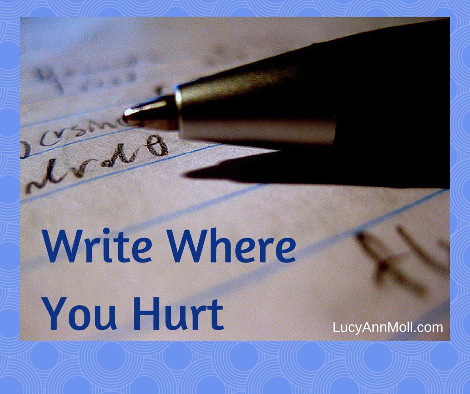 Write WhereYou Hurt